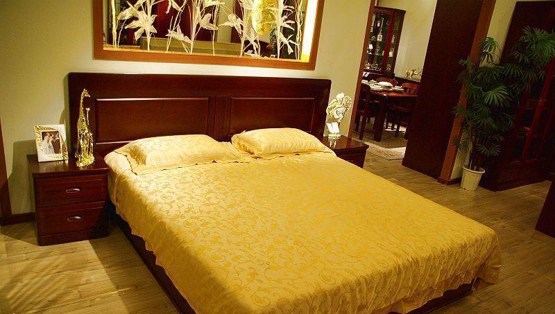 光明卧室家具双人床086-1517-1800086-1517-1800
