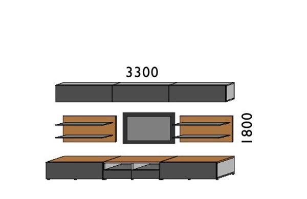 挪亚家厅柜组合D028D028