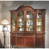 大风范家具路易十六餐厅系列LV-751-4四门酒柜