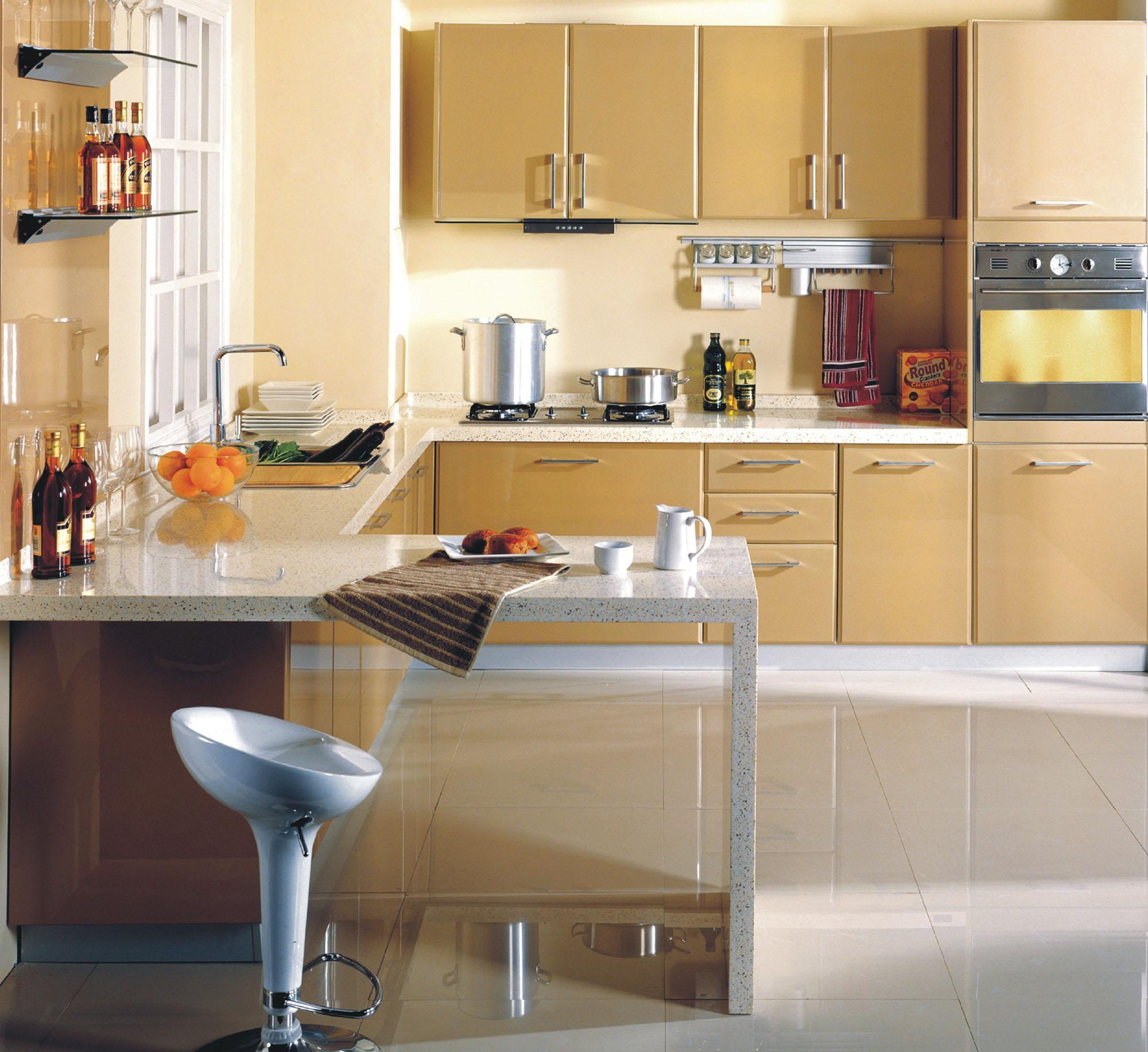 蓝谷智能厨房卡布基诺系列LE-3001 L型半开放式DLE-3001 L型