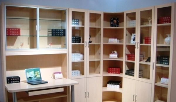 诺捷书房家具-书柜6K0016K001