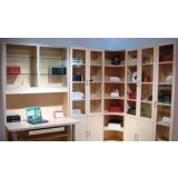 诺捷书房家具-书柜6K001