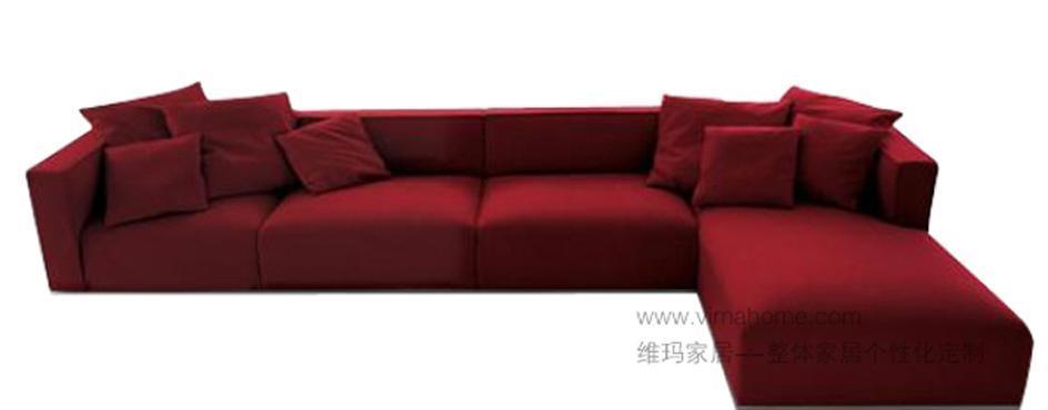 维玛CH088转角沙发CH088