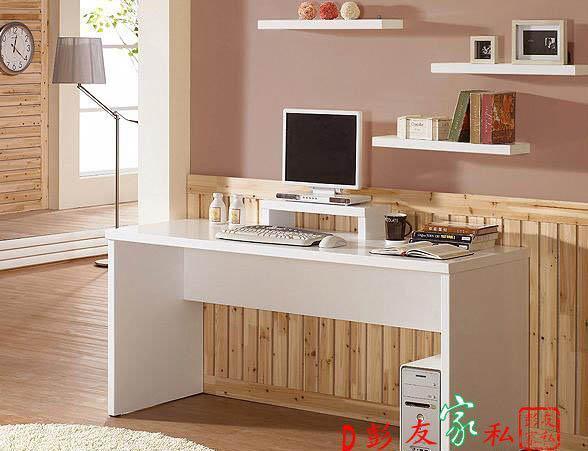 彭友家私韩式XSS-011白枫木色电脑桌