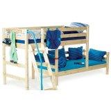 丹麦芙莱莎儿童家具半高床组合CORA2(本木色)
