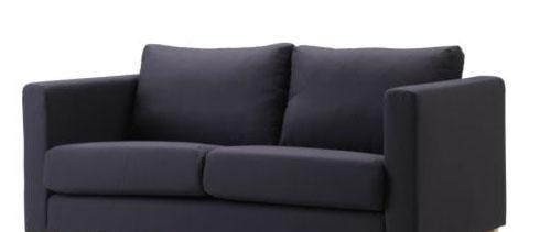 宜家克尼胡特(深灰色)双人沙发