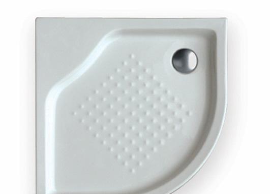 乐家卫浴秀丽角型淋浴盆276016..0276016..0