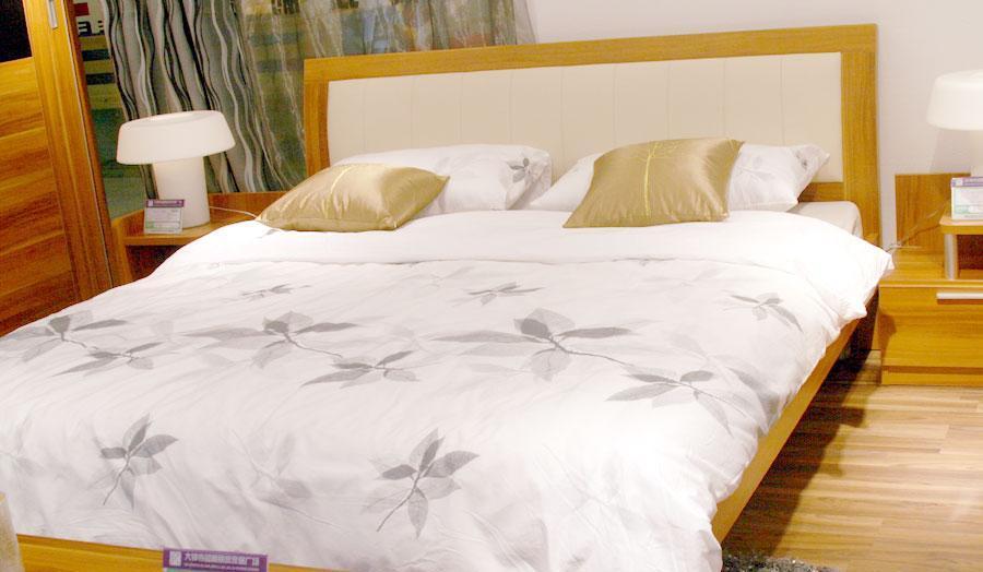 百强卧室家具双人床A2-13A