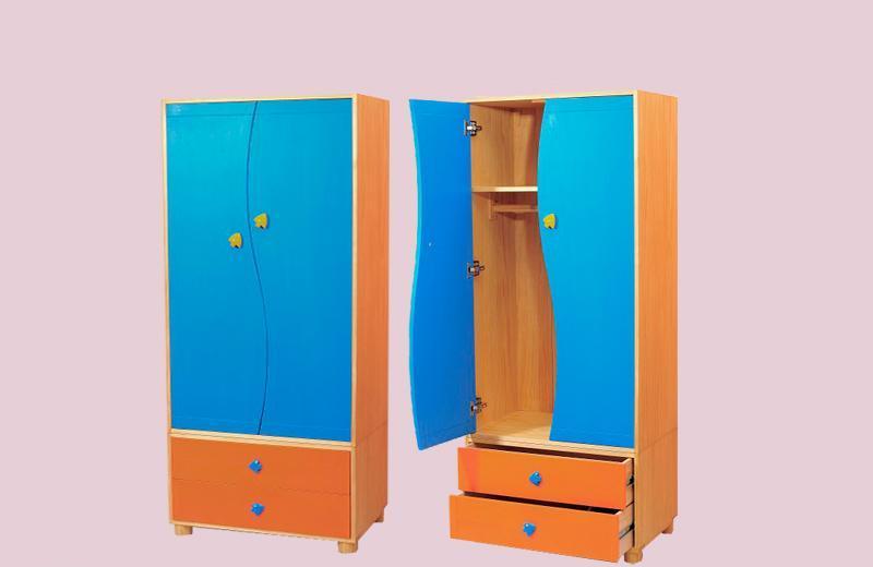 爱心城堡儿童家具衣柜JA02-WR1JA02-WR1