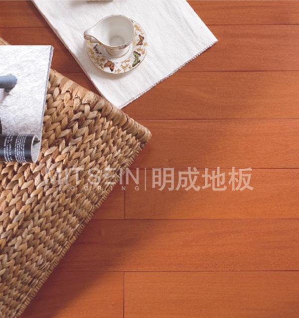 明成铁苏木实木地板(本色亚光)铁苏木
