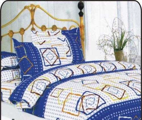 夜雅家纺精梳全棉四件套时尚生活-蓝时尚生活