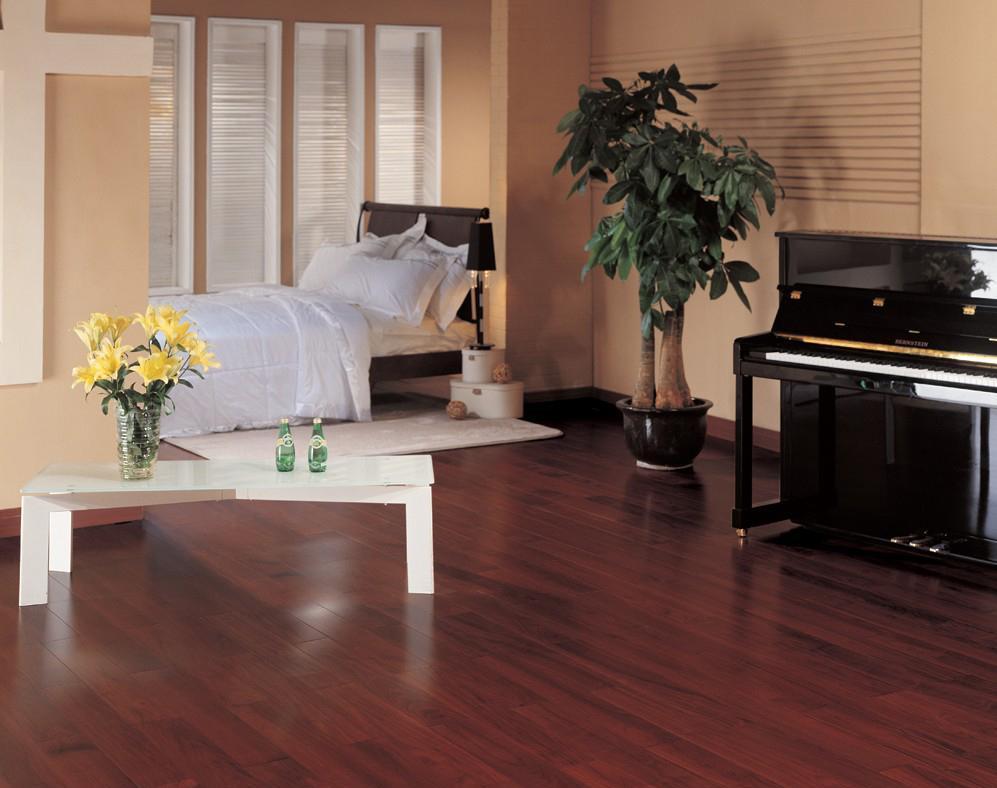 北美枫情和居二代系列黑胡桃多层实木复合地板黑胡桃