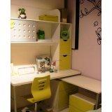 多喜爱彩色儿童家具-书桌+书架8M05