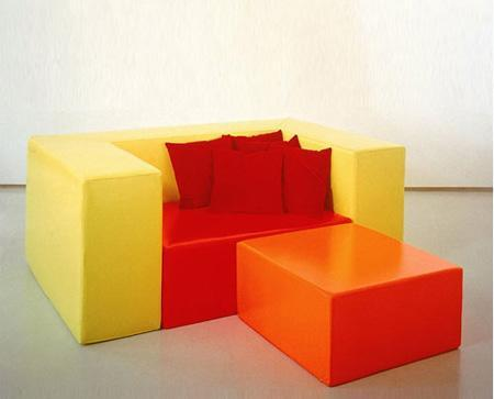 北山家居客厅家具单人沙发1SA190AD1SA190AD