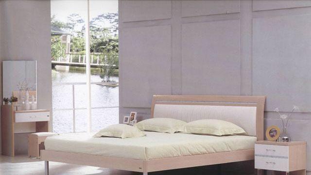 森盛家具卧室套装白榉系列05(床屏)A2095