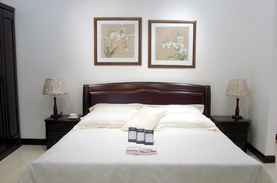 双叶卧室家具床E30-18+L22B-1820E30-18+L22B-1820