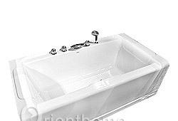 箭牌单裙浴缸(白)A1525QA1525Q