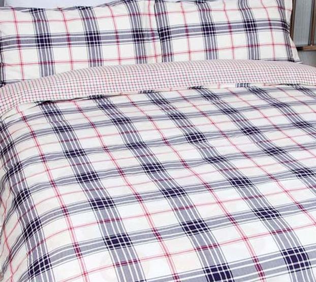 爱可尼斯永恒英伦情调床上用品欧式斜纹全棉四件S0903007