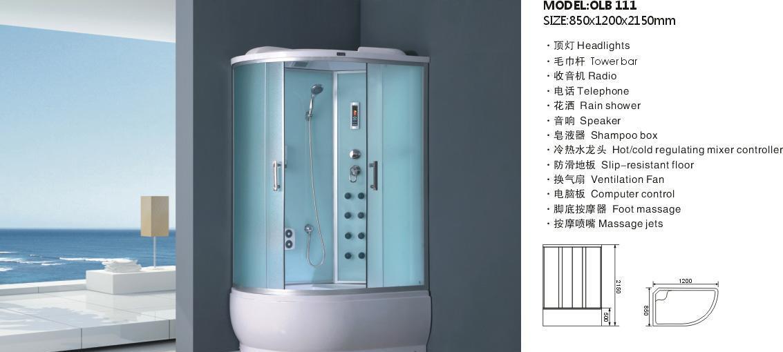 欧罗芭OLB111整体淋浴房OLB111