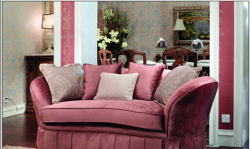 梵思豪宅客厅家具OP5077SF2p沙发OP5077SF2p