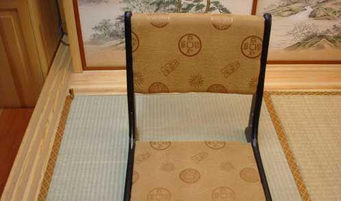 艺唐和室榻榻米木折椅战国木折椅