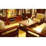 谷氏实木家具G-3-2客厅沙发