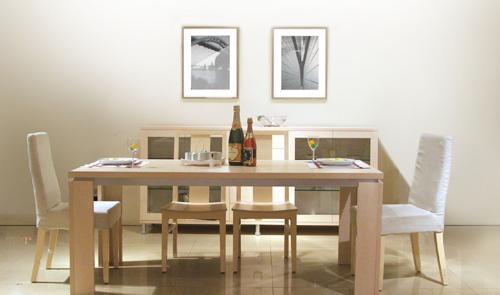 意风板式家具 - 餐桌椅