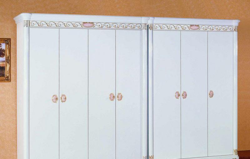 中信-圣.洛克白亮光系列四门衣柜701701