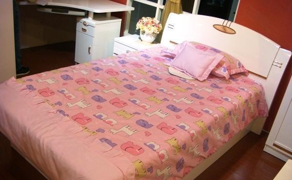 双虎家具-儿童床架B802