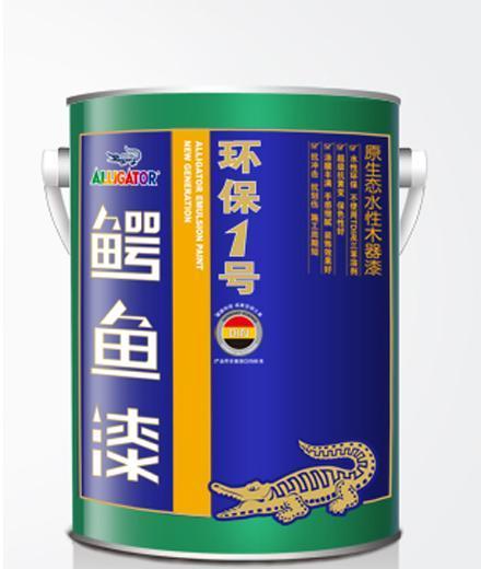 鳄鱼环保一号原生态水性木器漆