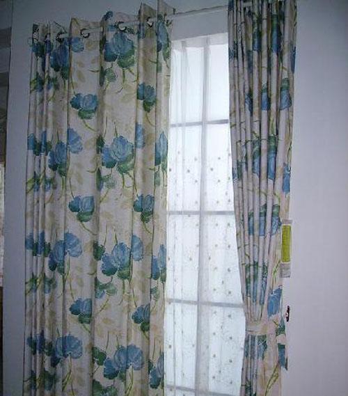 藤川布老虎幻想兰卧室客厅餐厅书房窗帘(布PP72布PP7209B
