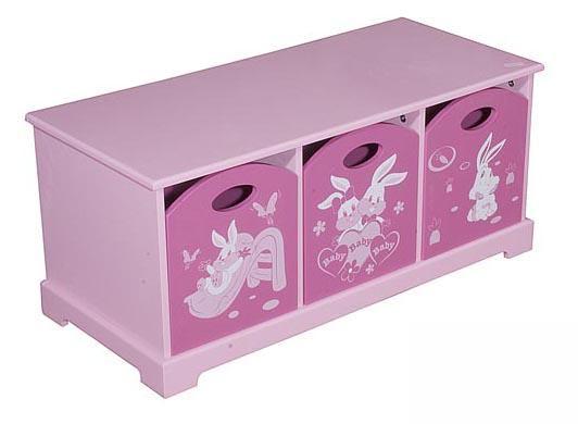 图图佳佳图图宝宝系列RJU00470三抽柜(粉色)