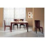 檀香国色系列―餐桌+餐桌椅