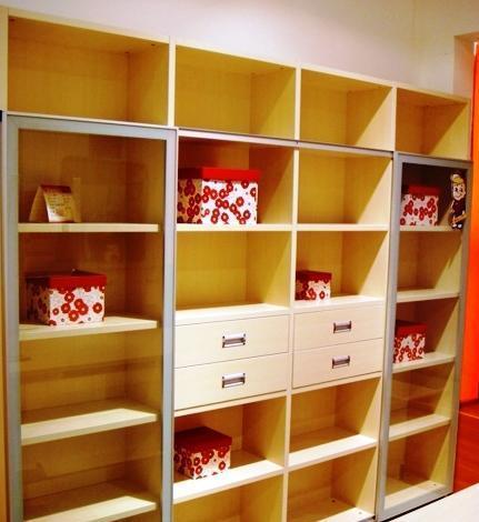 五木书房家具-推拉书柜WD-16