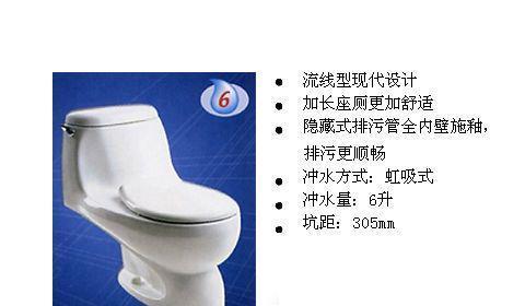 美标CP-2097沙婉娜6升节水型加长连体座厕(305mmCP-2097