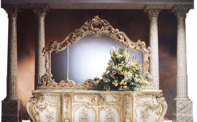 罗浮居厅柜意大利SILIK家具F1-43-015-D28F1-43-015-D28