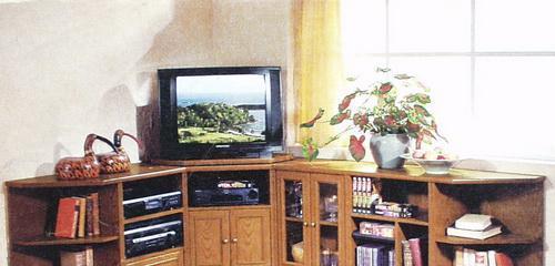 林木工坊专业定制家具乡村电视柜035035