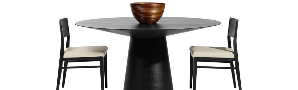 北欧风情圆形餐桌Amari-1500Amari-1500