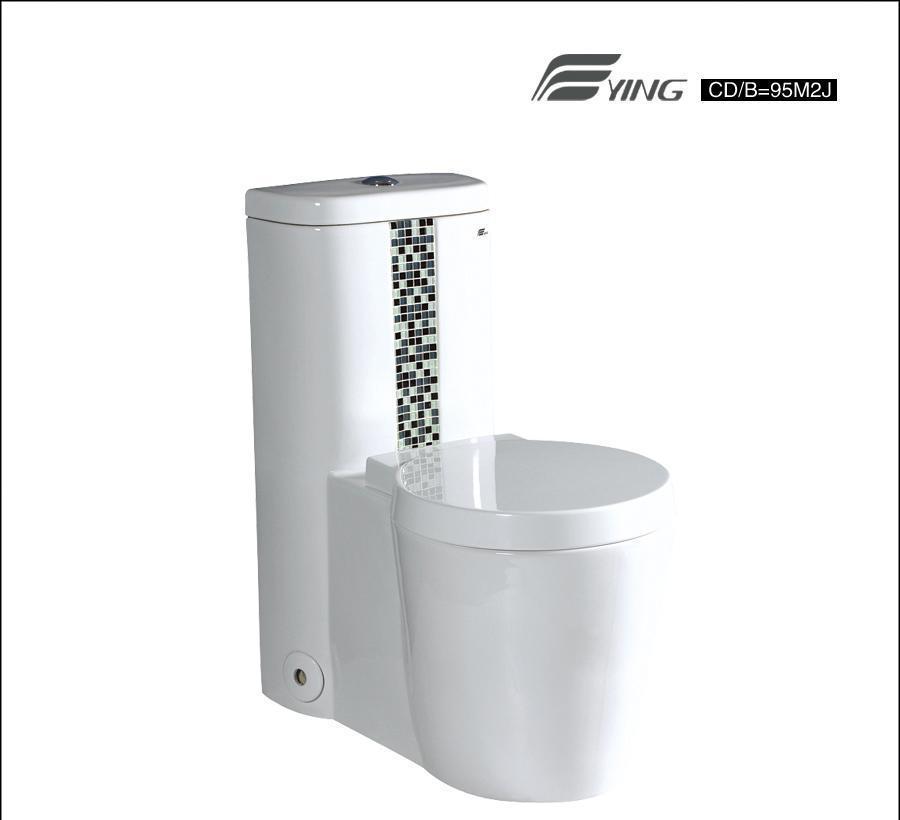 鹰卫浴连体座厕 CD=9530M2JCD=9530M2J