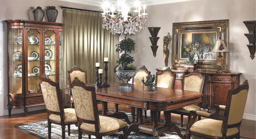 大风范家具路易十六餐厅系列LV-720-2餐椅LV-720-2餐椅