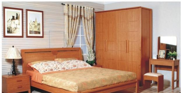 华源轩卧室1.8m床樱桃2代系列R2804AL