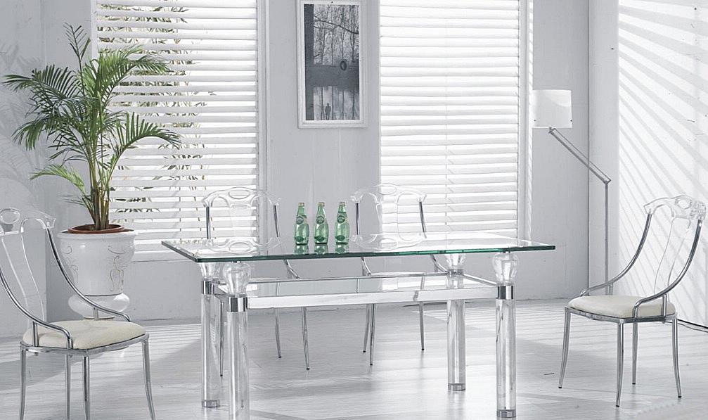 朗臣时尚透明系列DLY-T870餐桌