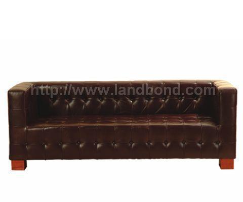 联邦家私-三人沙发(棕)LV2518L3/SLV2518L3/S