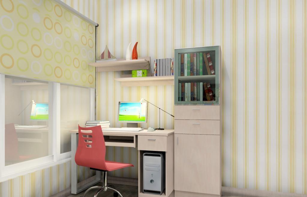 尚品宅配乐维斯系列B2357儿童房套餐