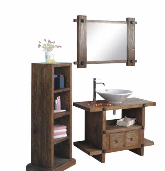 三英浴室柜309古木系列套装309古木系列