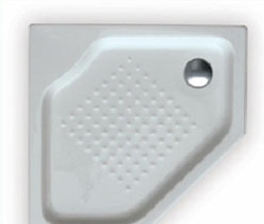乐家卫浴白兰地钻石型淋浴盆276017..0276017..0