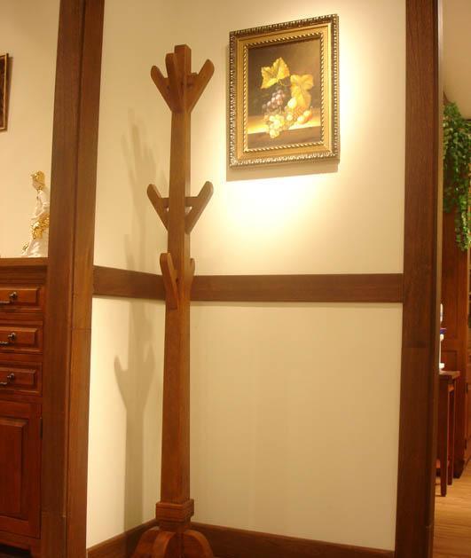 树之语美丽园系列TYW-062衣帽架<br />TYW-062