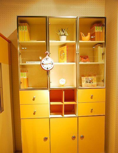 我爱我家儿童家具三门书柜FH08-B+E+F+GFH08-B+E+F+G