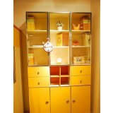 我爱我家儿童家具三门书柜FH08-B+E+F+G