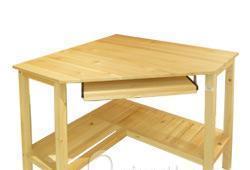 爱默森松木角型电脑桌10241024